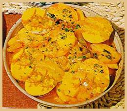 SALADE DE PATATES DOUCES