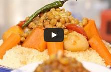 Vidéo choumicha : couscous aux légumes