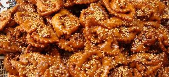 chebakia-tresses-rubans-au-miel-ramadan