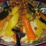 Couscous de printemps aux trois poissons, recette couscous
