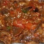 Spéciales Ramadan : Salade d'aubergines