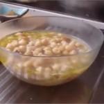 Ramadan spécialisé soupe : Soupe de pois chiches Lablabi