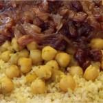 Spécialés Ramadan : Couscous aux raisins