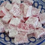 Loukoum aux pistaches, Dessert Ramadan