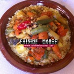 Couscous de pois chiches et de légumes