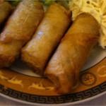 Cigares croustillants au fromage blanc du Ramadan