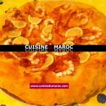 Spécialité de Fés : Pastilla aux fruits de mer