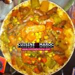 Recette : Couscous Marocain
