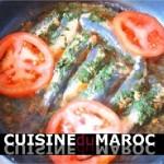 Sardines chermoula