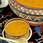 Harira soupe marocaine du ramadan : bouillon et tedouira