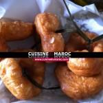 Le Beignets marocains Chfenj ou sfenj