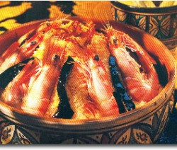 cuisinedumaroc-Couscous-crevettes