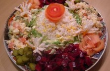 Salade composée au Riz