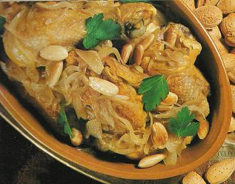 poulet_oignons_amandes