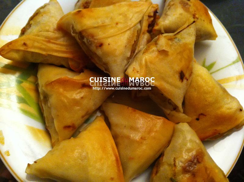 Pastilla au poulet Mini Pastilles Tarte marocaine aux feuille de brick