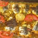 Recette de Sardines à la poudre d'amandes