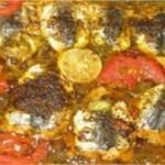 Sardine au four