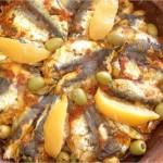 Pommes de terre et sardines