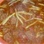 Boulettes de viande hachée aux asperges