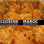 Boulettes de viande bœuf hachée à la marocaine