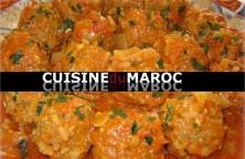 boulettes-viande-bœuf-hachee-marocaine