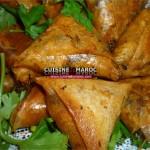 Briouates aux kefta, bricks à la viande hachée marocaine