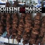 Brochettes de boeuf à la marocaine