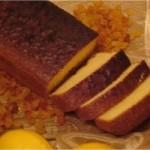 Cake citron et raisins secs