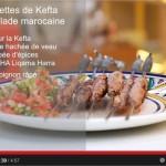 Vidéo choumicha : Brochettes de Kefta