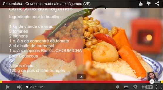 videos choumicha