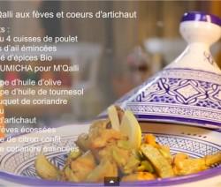 choumicha-poulet-frit-feves-artichauts