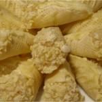 Cornets à la pâte d'amande