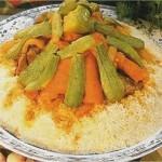 Couscous aux légumes et poulet fermier