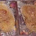 Recette pâtisseries : Doigts de ktayef