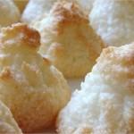 Gâteaux rôches à la noix de coco