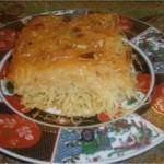 Konafa marocaine traditionnelle
