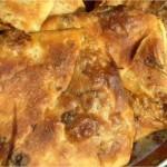 Meloui farçie aux oignons et kefta