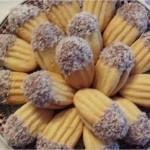 Petits fours au beurre et chocolat