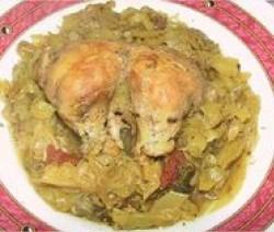 poulet-au-chou