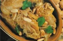 poulet-aux-oignon-amandes