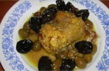 poulet-aux-pruneaux-et-olives