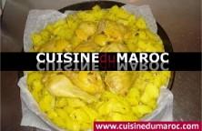 poulet-marine-pommes-de-terre