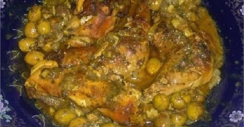 poulet-mchermel-marine-aux-olives