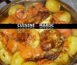 poulet-moutarde-legumes