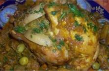 poulet-roti-farci-a-la-vermicelle-chinoise