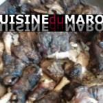 Rasse mbakhar – tête de mouton