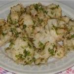 Salade de chou fleur et persil