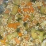 Salade Ebly aux légumes