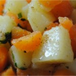 Salade de pommes de terre et carottes