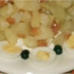 Salade de pommes de terre à la tomate